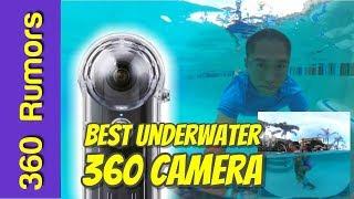 Best underwater 360 camera (2018): Ricoh Theta V underwater 360 VIDEO sample TW-1 case TW1