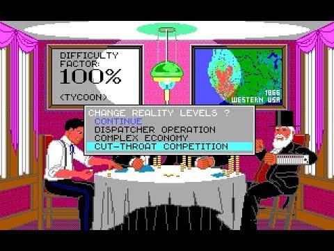 Sid Meier's RAILROAD TYCOON (PC/DOS) Longplay, 1990, MicroProse, MPS Labs