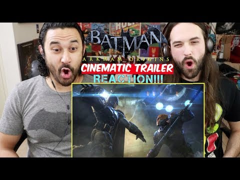Download BATMAN: Arkham Origins Official Trailer - REACTION!!!