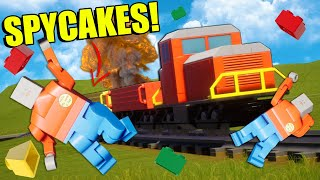 The New Update Makes Stopping the Lego Train Weird... (Brick Rigs Multiplayer)
