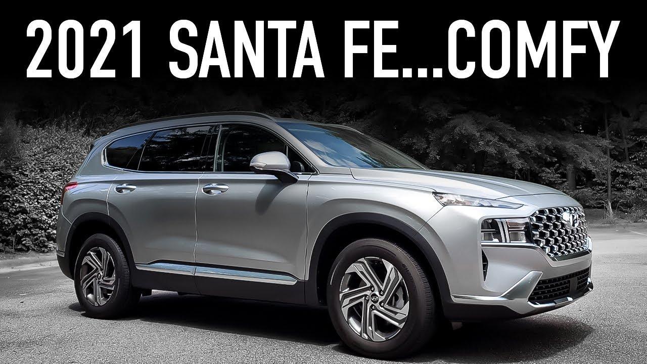 2021 Hyundai Santa Fe SEL Convenience Package Review...Silence & Comfort