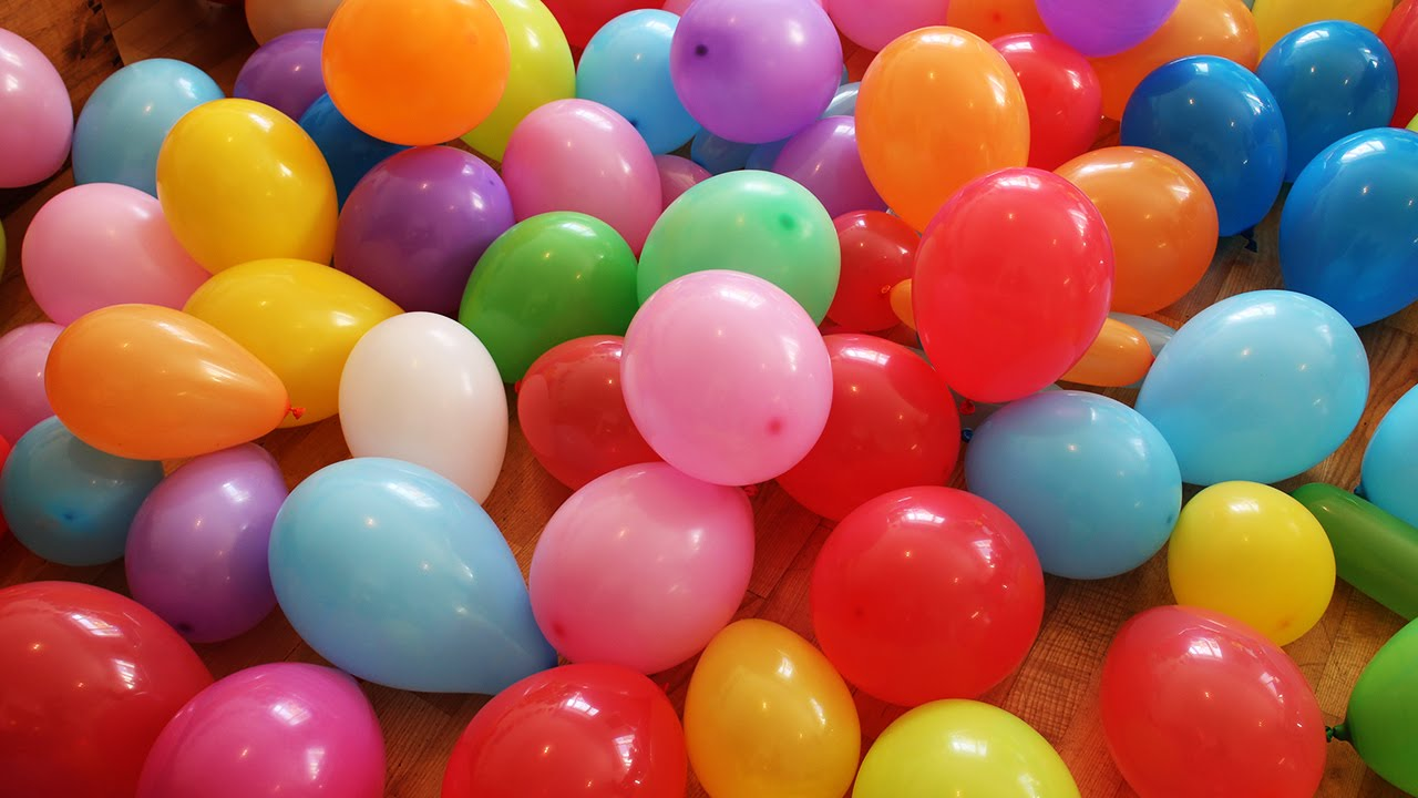 The Balloon Show For Learning Colors Children S Educational Video You