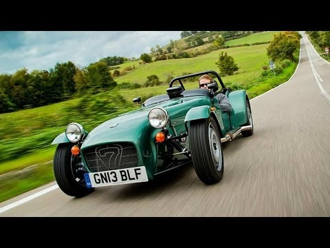 On The Road Caterham Seven 160165 Option Auto Youtube