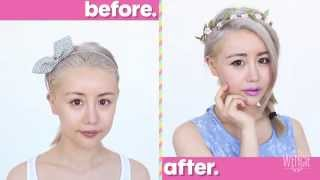 Spring into Lilac Makeup and Outfit Look Tutorial Thumbnail