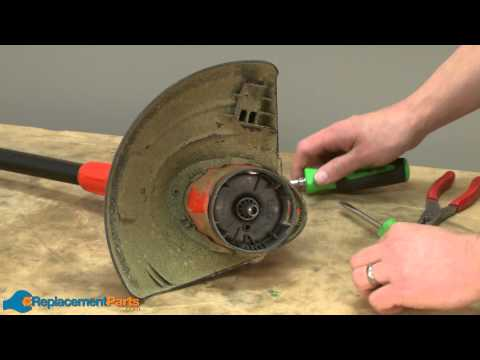 How To Replace The Guard Assembly On A Black And Decker CST1200 String Trimmer (Part # 598911-02)