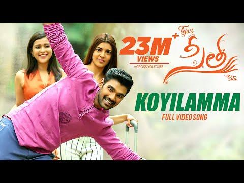 Koyilamma Video Song   Sita Telugu Movie   Bellamkonda Sai, Kajal   Armaan Malik   Anup Rubens  Teja