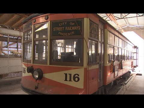 VIDEO: Phoenix Trolley Museum holds final day at current location