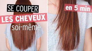 Couper ses cheveux soi meme en u