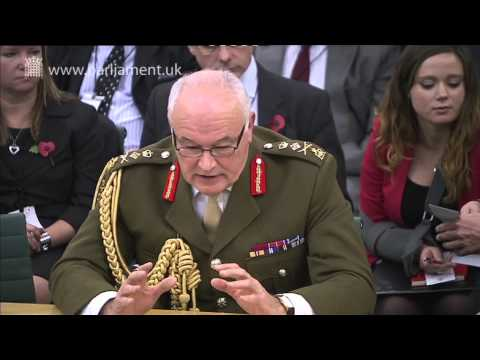 Defence Committee question the Defence Secretary and CGS on