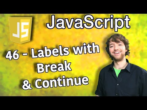 JavaScript Programming Tutorial 46 - Labels with Break and Continue thumbnail
