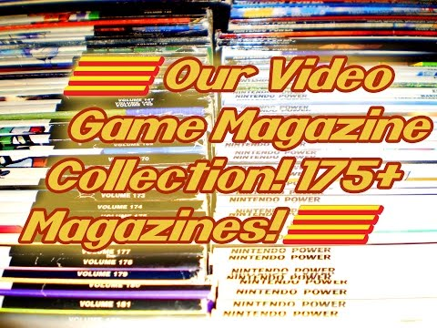 Video Gaming #103: Our Video Game Magazine Collection! 175+ Magazines!