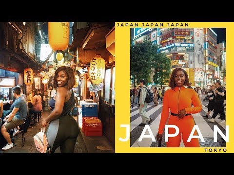FIRST TIME IN JAPAN | Tokyo Travel Vlog (Part 1)