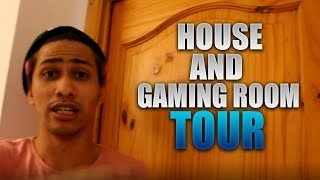 HOUSE TOUR / GAMING ROOM PART 1 - DOGIE - CHIX - GAMING HOUSE