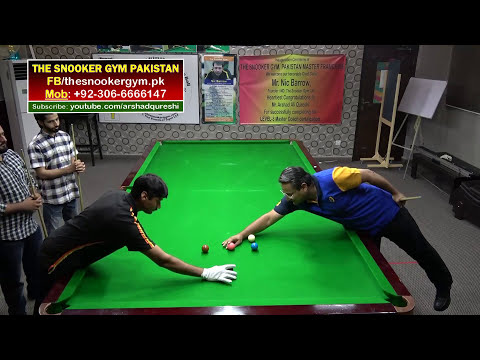 Thumbnail: Snooker Coaching/Training! How to improve break building, Secret practice routine S-1,Arshad Qureshi