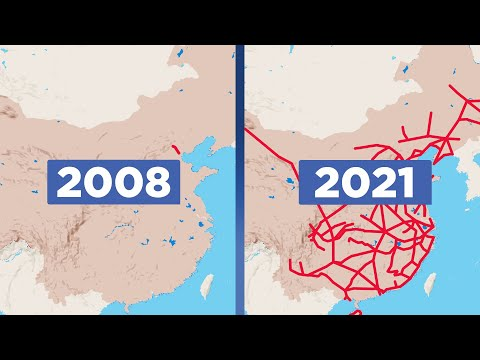 The Unstoppable Growth of China's High-Speed Rail Network