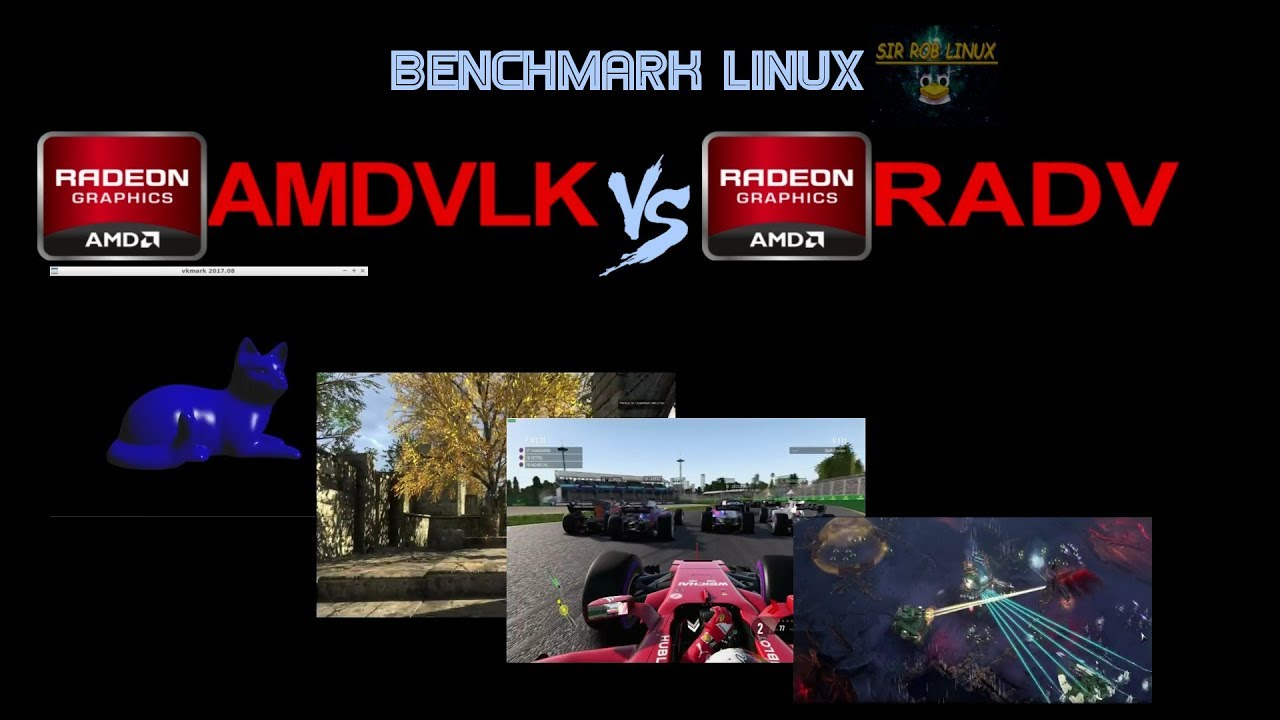 Benchmark Linux - Amdvlk vs Radv - Drivers Vulkan no Linux