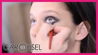 A Sultry Smoky Eye Tutorial Featuring Dancer & Model Renee Stewart - The Carousel