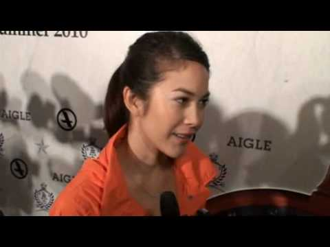 Paula Interview at Aigle Event (HK)