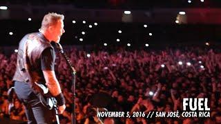Metallica Fuel San José Costa Rica November 5 2016