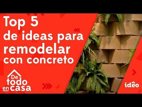 Top 5 De Ideas Para Remodelar Con Concreto - De Todo En Casa