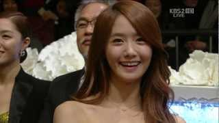[HD] 121231 KBS Drama Acting Awards - Yoona Cut