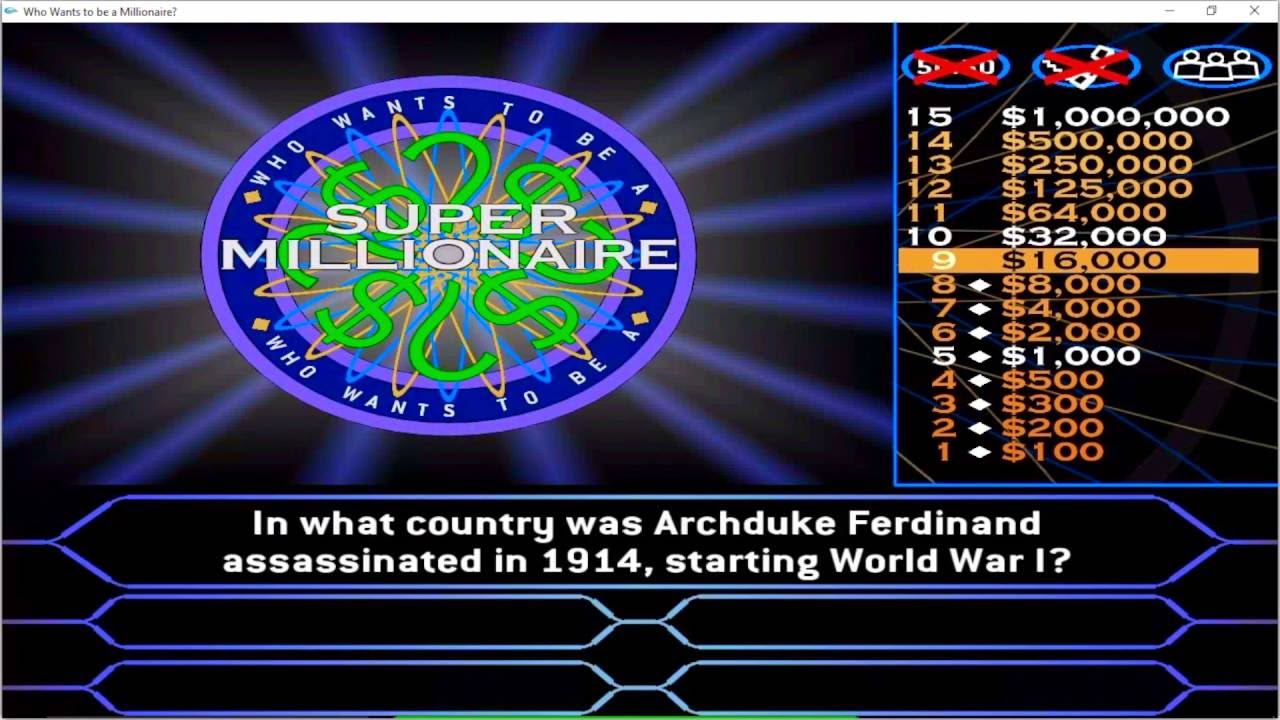 Who Wants to Be a Millionaire? on the App Store