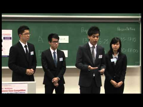 2012 HSBC/McKinsey Business Case Competition - Final Round - HKUST