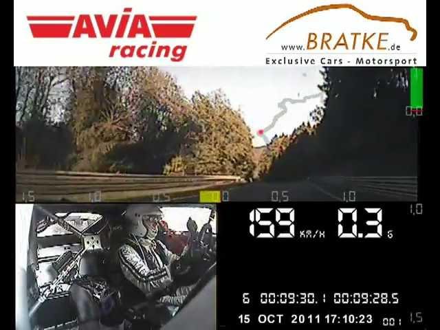 Onboard Kamera VLN 9. Lauf: AVIA racing und Bratke Motorsport im AVIA Aston Martin