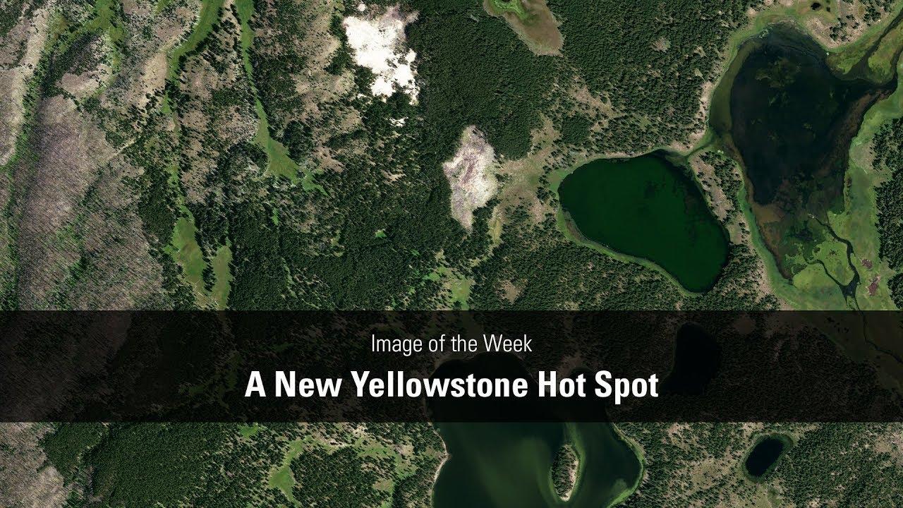 A New Yellowstone Hot Spot