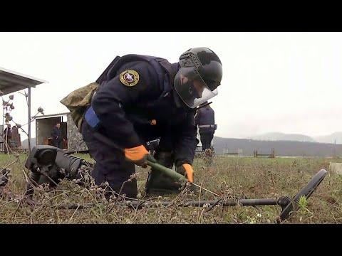 В Минобороны рассказали о жизни российских миротворцев в Нагорном Карабахе.