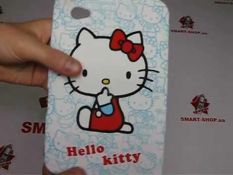 TPU чехол Samsung P1000 Galaxy Tab Hello Kitty