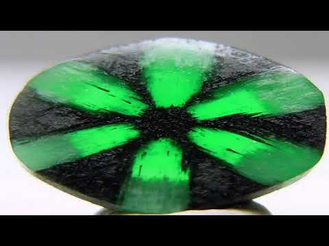 What is a Colombian Trapiche Emerald ?