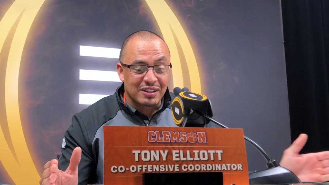 Clemson OC Tony Elliott: 'Trevor Lawrence Has Made me a Better ...