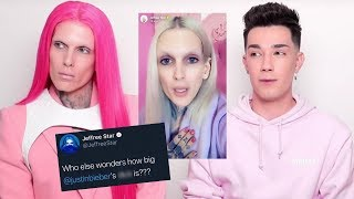 jeffree star RESPONDS to james charles amp his deleted tweets