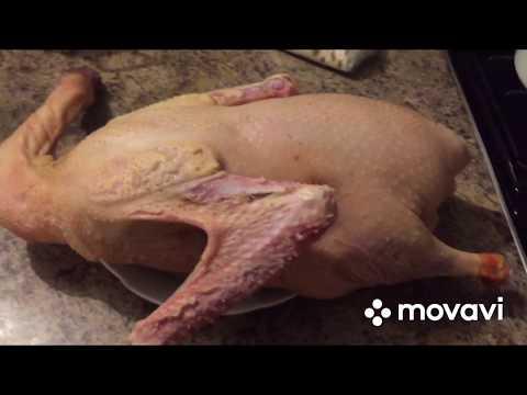 Маринованный гусь с киви, нежнейшее мясо. Киви  делает мясо нежным и сочным