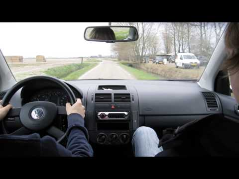 Taking A Ride In My New Volkswagen Polo 9n 16v