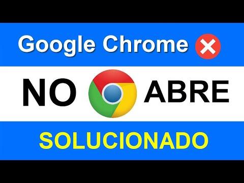 Google Chrome NO Responde, NO Abre, NO Carga, NO Funciona En Windows 10/8/7 SOLUCIÓN Sin Programa
