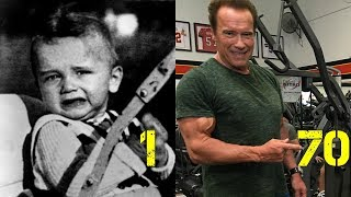 Arnold Schwarzenegger - From 1 To 70 Years Old