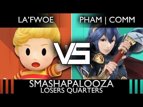 [Smashapalooza] Losers Quarters: La'Fwoe (Lucas) vs. PHAM   Comm (Lucina)