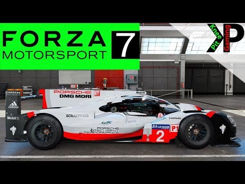 forza 7 gameplay porsche prototype racing at lemans. Black Bedroom Furniture Sets. Home Design Ideas