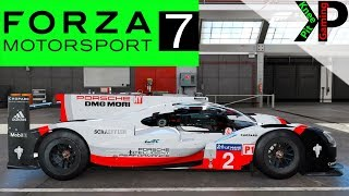 Forza 7 Gameplay - Porsche Prototype Racing at LeMans - Forza Motorsport 7 PC Gameplay