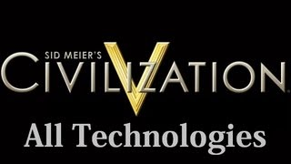 Civilization 5 All Technologies / Technology Quotes