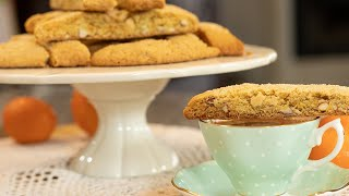 Orange & Almond Olive Oil Paximadia: Vegan Biscotti
