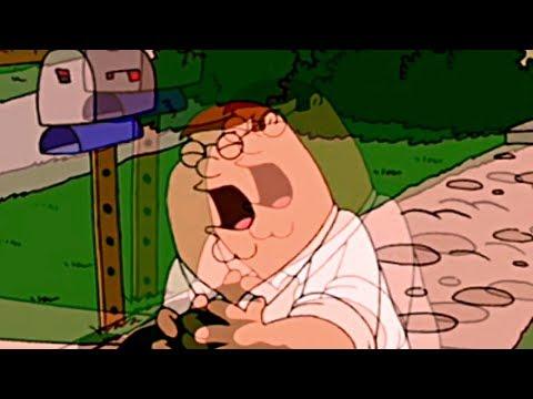 Peter hits the floor