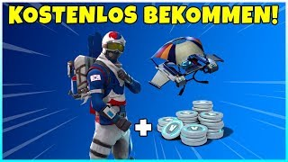 😨 Get Free V-Bucks + Rare Ski Skin in Fortnite Battle Royale