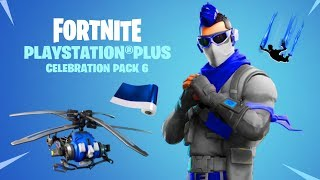"The New ""PLAYSTATION CELEBRATION PACK 6"" in Fortnite! PS4 PLUS PACK 6 LEAKED! (NEW FREE PS4 REWARDS)"