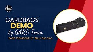 GARD Bass Trombone Gig Bag 23-MSK - Set Up