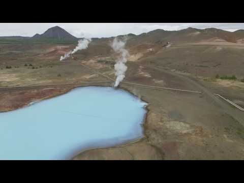 Iceland 06-20-2017 Myvatn Geo Thermal power plant