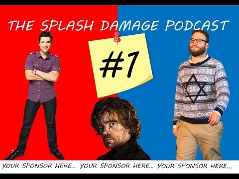 THE SPLASH DAMAGE PODCAST #1 - THE LAST OF US, ASSASSIN'S CREED