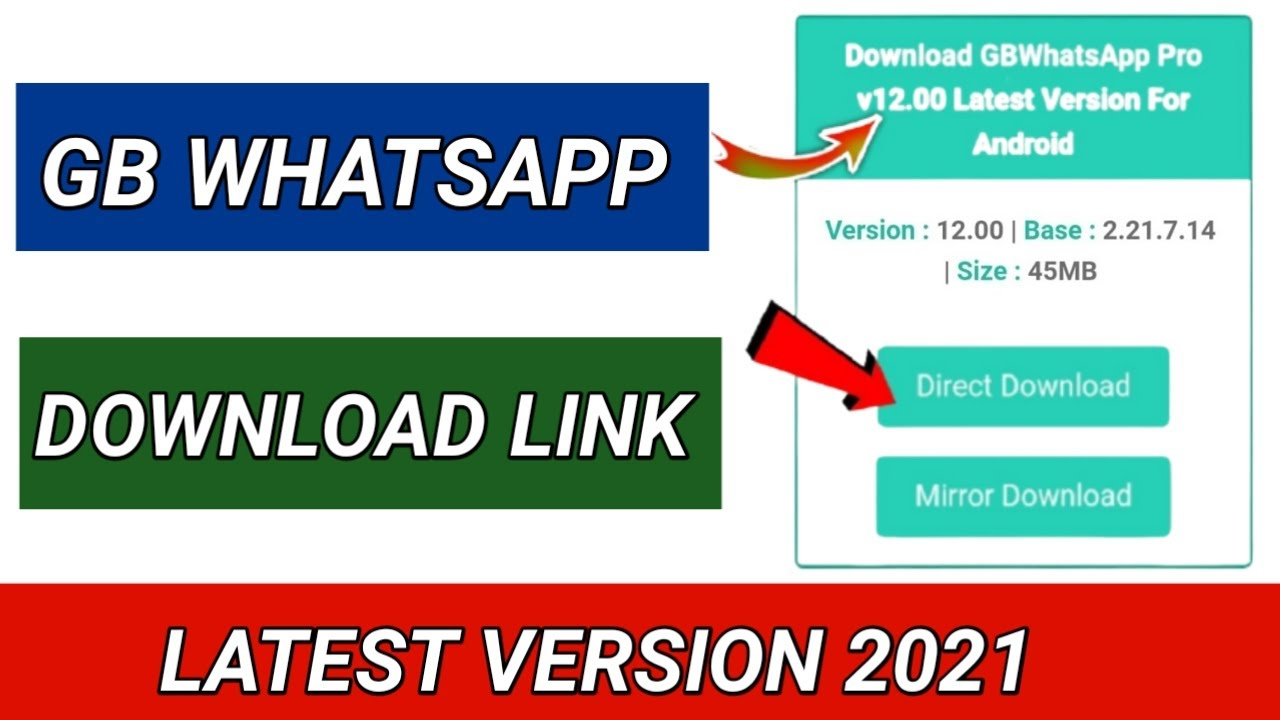 How To Download Gb Whatsapp On Android Iphone Latest Version Gb Whatsapp Update 2021 Youtube